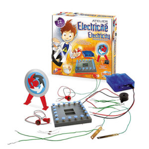 Buki Electricity workshop 7172, παιδικα, παιχνιδια, παιχνιδι, pexnidia, paixnidia, πειραματα, παιχνιδια με πειραματα, Buki, buki 7172