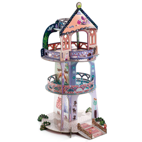 Djeco Τρισδιάστατο χάρτινος 'Πύργος νεράιδας'