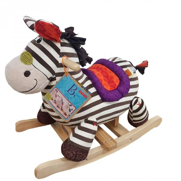 33783 1 B.Toys Κουνιστο αλογακι ζεβρα