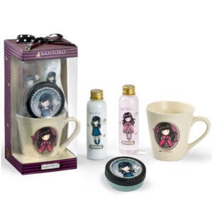 "Santoro Gorjuss Σετ Shower Gel 120ml, Body Lotion 120ml, Body Scrub 50ml & Mug ""Ladybird"" 3008"