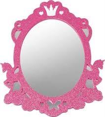 καθρεφτης Lillifee, Spiegelburg , καθρεφτης παιδικος, κοριτσιστικος καθρεφτης Lillifee, ροζ καθρεφτης απο καουτσουκ ,