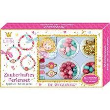 σετ περλες Spiegelburg, σετ περλες Spiegelburg Lillifee, κατασκευη με περλες βραχιολακια Lillifee Spiegelburg,