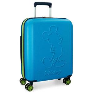 Disney Mickey Βαλίτσα Καμπίνας Trolley Μπλε 3428662
