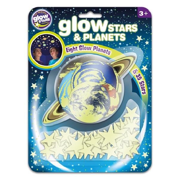 Brainstorm Toys 3D Φωσφορίζοντες Πλανήτες & Αστέρια B8623