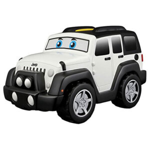 Bburago Junior Touch and Go Jeep Wrangler Unlimited 16/81801