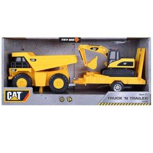 CAT Φορτηγό με Εκσκαφέα Truck n Trailer 36/34719