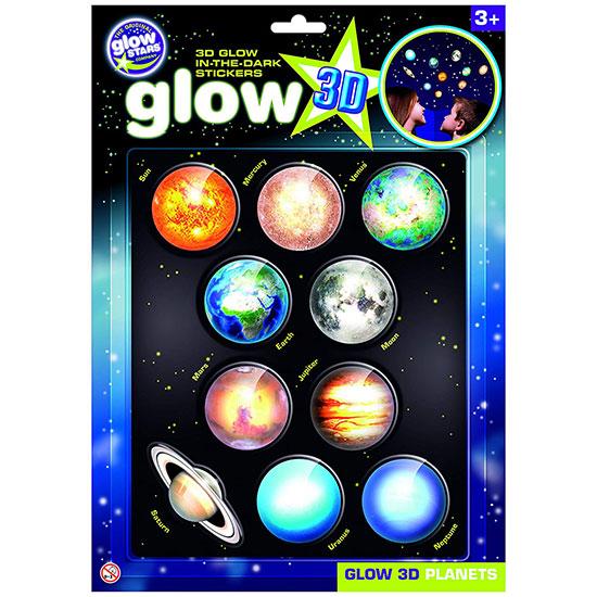 Brainstorm Toys 3D Φωσφορίζοντες Πλανήτες B8101