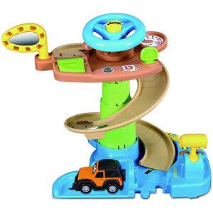 Bburago Πίστα Αυτοκινήτου Junior Set Play Jeep Tree House 16/88603