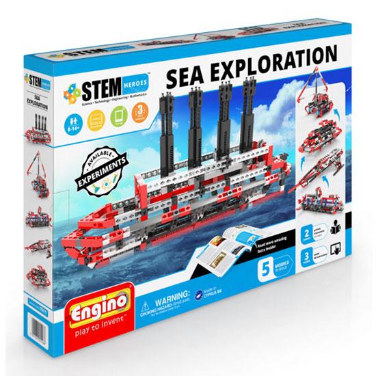 Engino Κόσμος της Ναυτιλίας Stem Heroes Sea Exploration STH71