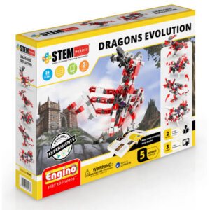 Engino Κόσμος των Δράκων Stem Heroes Dragons Evolution STH41
