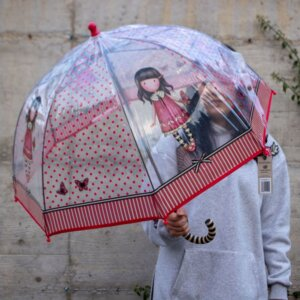 ομπρελα santoro gorjuss παιδικη, μπαστουνι ομπρελα santoro, ομπρελες σαντορο παιδικες,