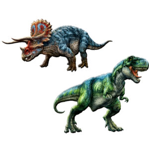 sticker glow in the dark T-Rex, αυτοκολλητα φωσφορουχα δεινοσαυρων,