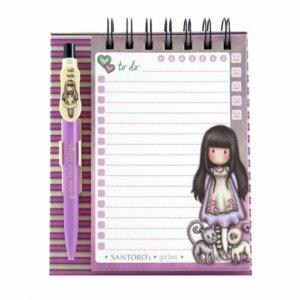 memo με στυλό, σημειωματάριο, τετράδιο, notebook, σχολικά, γραφική ύλη, είδη γραφείου, δώρα, santoro gorjuss
