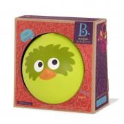 33072 1 B.Toys Μπαλα με ηχο πρασινο πουλακι 20 εκ. , B.Toys bala me icho prasino pulaki