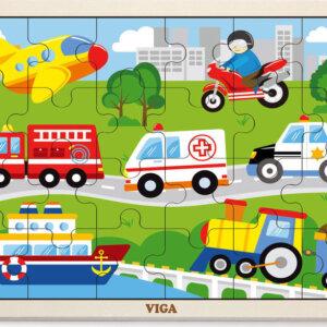 Viga puzzle cars Viga παζλ οχηματα