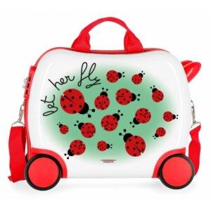 valitsa paidiki, valitsa, βαλιτσα , τσάντα ταξιδιού, είδη ταξιδιού, σακίδιο, σακίδια,βαλιτσακι με 4 ροδες