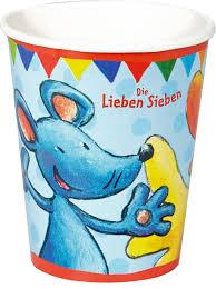 χαρτινα ποτηρακια για παρτυ Lieben Sieben Spiegelburg
