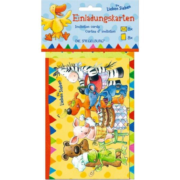 Lieben sieben spiegelburg προσκλησεις για παρτυ
