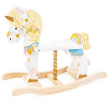 Ξυλινο, κουνιστο, παιχνιδι, κουνιστο αλογακι, ξυλινος κουνιστος μονοκερος, Le Toy Van,