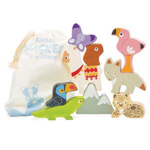 Le toy Van παιχνιδι στοιβαξης, παιχνιδι ισορροπιας, παιχνιδια, ξυλινα παιχνιδια, jylina paixnidia,