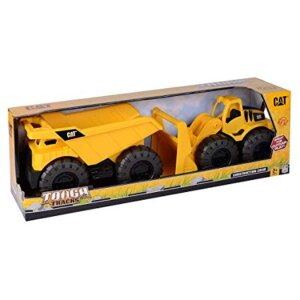 Toy state 82046 Construction Crew 2 - Pack Dump Truck and wheel Loader