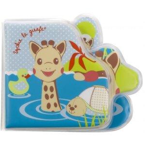 παιχνίδια μπάνιου, βίβλιο μπάνιου, sophie la girafe