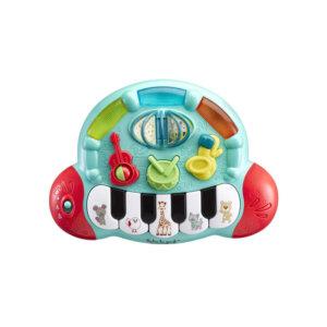 πιάνο, μουσικά παιχνίδια, παιχνίδια sophie la girafe, παιδικό πιάνο