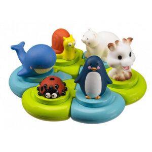 παιχνίδι, παιχνίδι μπάνιου, παιχνίδια μπάνιου sopkie la girafe