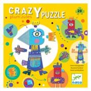 07124 1Djeco crazy puzzle  Plum'zules