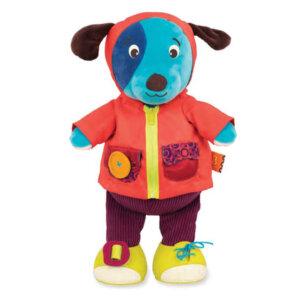 B.Toys σκυλακι εκμαθησης ντυσιματος που γαβγιζει και γελαει