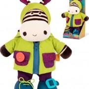 34894 1B.Toys Ζέβρα εκμάθησης ντυσίματος  που γελάει