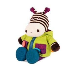 B.Toys ζέβρα εκμάθησης ντυσίματος που γελάει