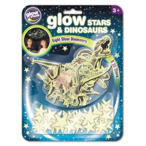 Brainstorm Φωσφοριζοντες δεινοσαυροι και αστερια