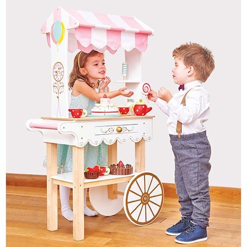 Le Toy Van Honeybake Tea & Treats Trolley