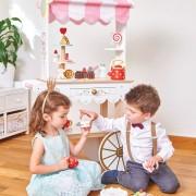 TV324 2 Le toy van Honeybake Tea & Treats Trolley