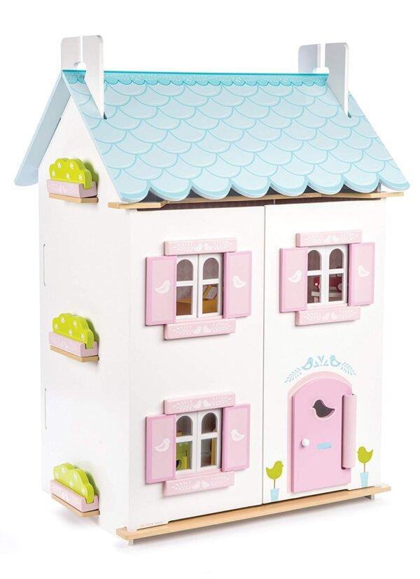 Le toy van -Blue bird cottage- Ξυλινο κουκλοσπιτο