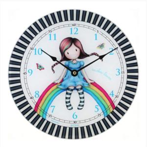 ρολόι, ρολόι τοίχου, ρολόι τοίχου santoro, διακόσμηση δωματίου