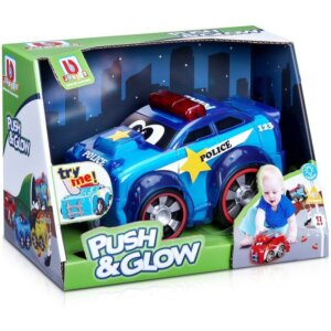 Bburago Junior Push & Glow Police car