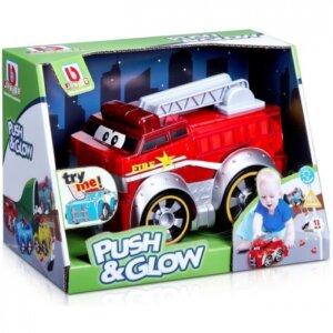 Bburago Junior - Push & Glow - Fire Truck