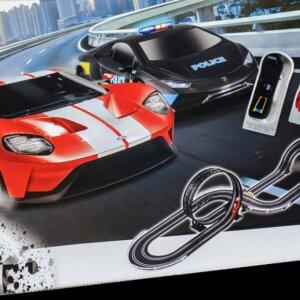 polistil αυτοκινητοδρομος- adrenaline race- police chase set