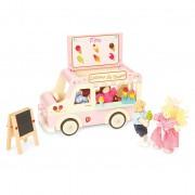 ME083 1Le toy van dolly ice cream van  Παγωτατζιδικο απο την εταιρεια Le toy van