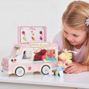ME083 3 Le toy van Παγωτατζιδικο  – dolly ice cream van-