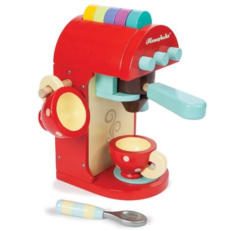 ξυλινη καφετιερα της εταιρειας Le toy van