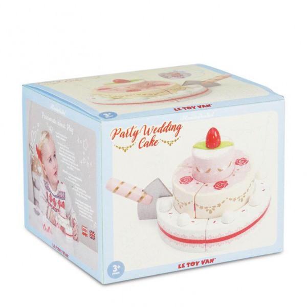 TV329 6 Le toy van wedding cake
