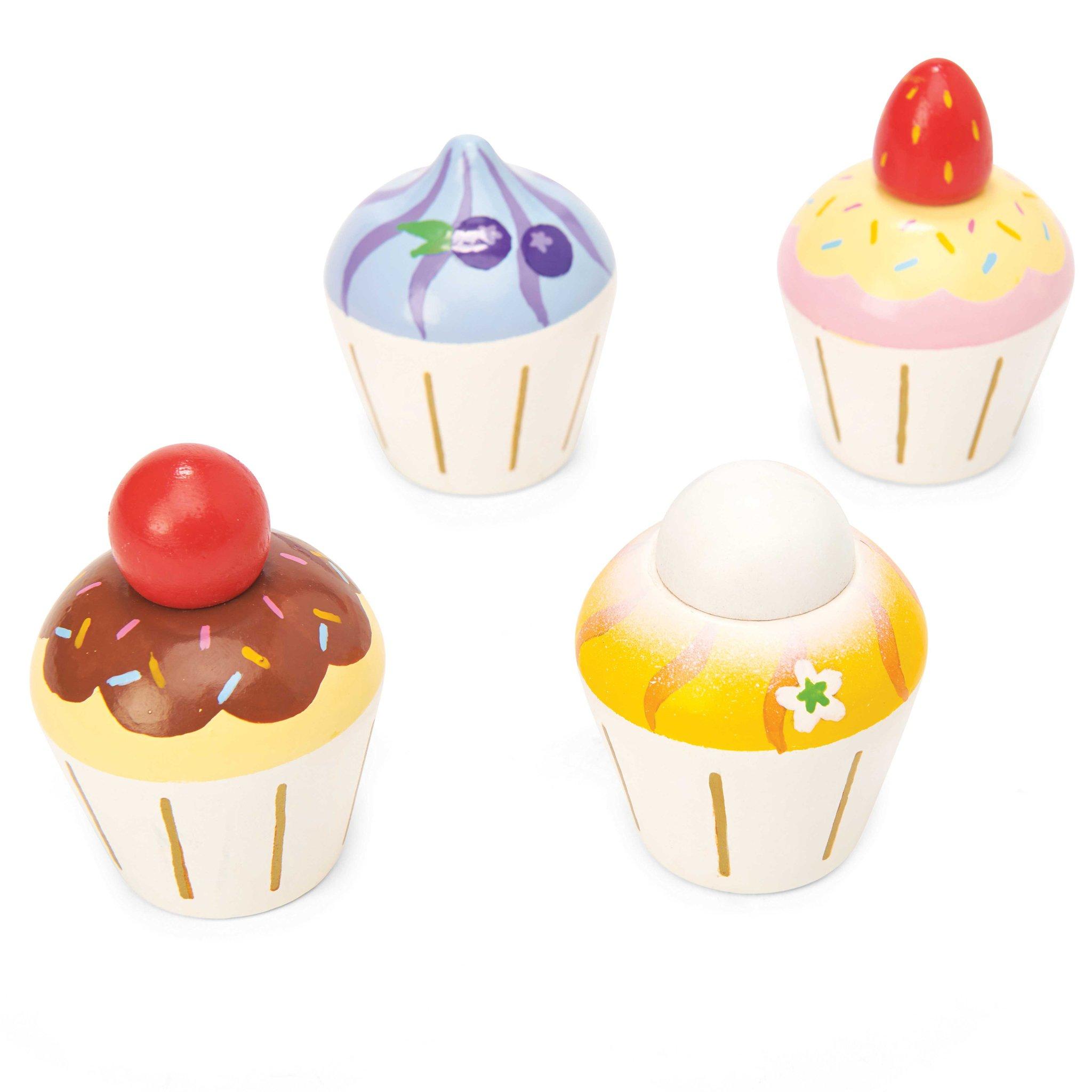 Cupcakes ξυλινο παιχνιδι της εταιρειας Le toy van