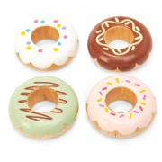 TV332 2 Le toy van ξυλινα παιχνιδια doughnuts