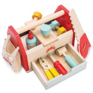 Le toy van -Tool Box- ξυλινη εργαλειοθηκη με εργαλεια