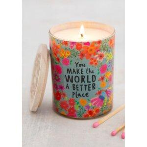 κερί, κεριά, αρωματικά χώρου, κερί natural life