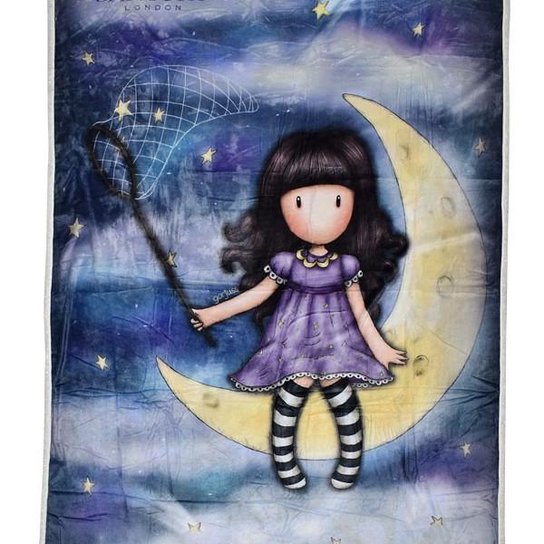 SA07214 1Santoro Gorjuss -Κουβερτα Fleece- catch a falling star –