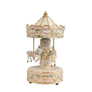 Carousel με μουσική τη διάσιμη Ελίζα του Μπετόβεν.  Διαστάσεις: Ύψος 25 εκ. / Διάμετρος:  13 εκ.